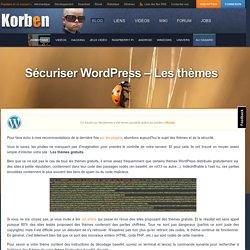 Sécuriser WordPress – Les thèmes