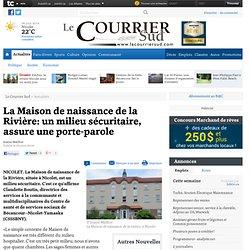 La Maison de naissance de la Rivière: un milieu sécuritaire, assure une porte-parole - Actualités