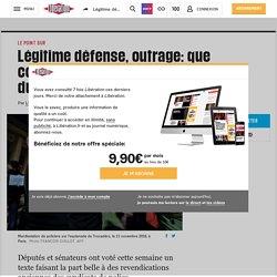 Légitime défense, outrage: que contient la dernière loi sécuritaire du quinquennat?