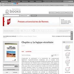Presses universitaires de Rennes - Chapitre 4. La logique sécuritaire