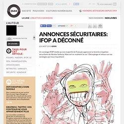 Annonces sécuritaires: IFOP a déconné » Article » OWNI, Digital Journalism