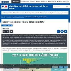 Sécurité sociale : fin du déficit en 2017 - Actualités du ministère - Ministère des Affaires sociales et de la Santé