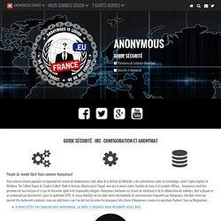 Sécurité et Anonymat