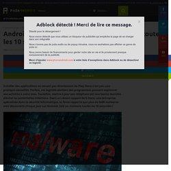 Sécurité : sur Android, un nouveau malware est découvert toutes les 10 secondes !