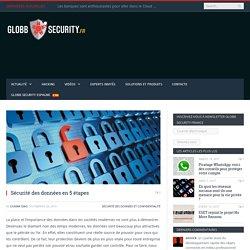 Sécurité des données en 5 étapes