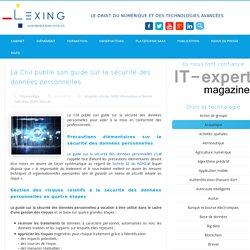 La Cnil publie son guide sur la sécurité des données personnelles
