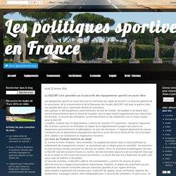 Les politiques sportives en France: La DGCCRF s'est penchée sur la sécurité des équipements sportifs en accès libre