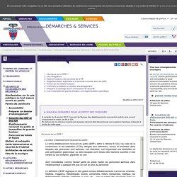 Sécurité des ERP et des IGH
