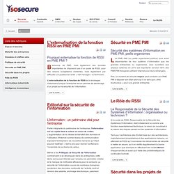 securite information