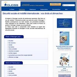 Sécurité sociale et mobilité internationale