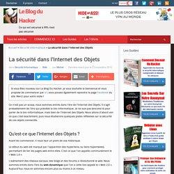 La sécurité dans l'Internet des Objets – Le Blog du Hacker