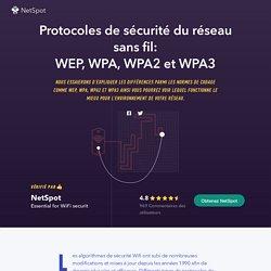 Sécurité Wifi : WEP, WPA, WPA2 et leurs différences