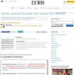 Agent de sécurité : Lettre de motivation pour un poste d'agent de sécurité - Agent de sécurité - ABC-Lettres par l'Obs