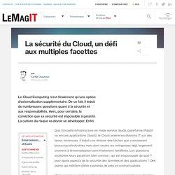 La sécurité du Cloud, un défi aux multiples facettes