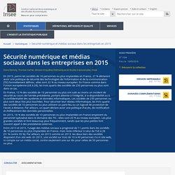 Sécurité numérique et médias sociaux dans les entreprises en 2015