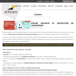 Atelier sécurité et protection de l'entreprise