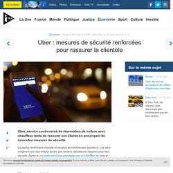 Uber : mesures de sécurité renforcées pour rassurer la clientèle