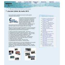 La sécurité routière dans le Val d'Oise - Journée Cahier de route 2013
