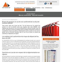 Sécurité incendie ERP/ERT : sanctions en cas de non-conformité