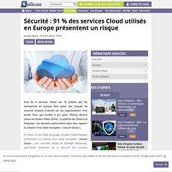 Sécurité : 91 % des services Cloud présentent un risque