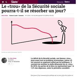 Le «trou» de la Sécurité sociale pourra-t-il se résorber un jour?