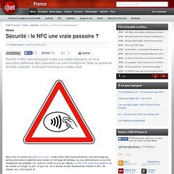 Sécurité : le NFC une vraie passoire