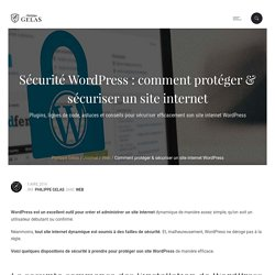 Sécurité WordPress : comment protéger un site internet WP