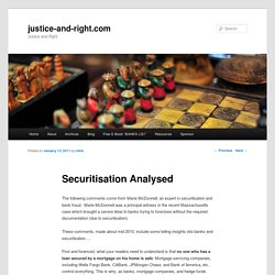 Securitisation Analysed - Marie McDonnell