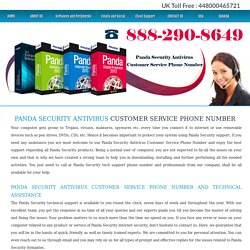 Panda Security Antivirus Customer Service Phone Number