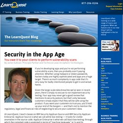 Security in the App Age