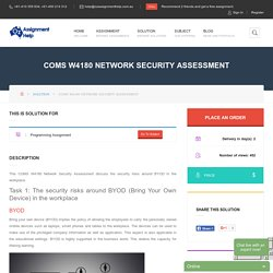 COMS W4180 Network Security Assessment
