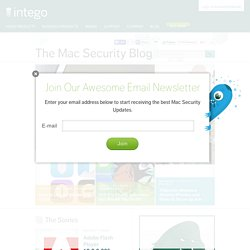The Mac Security Blog
