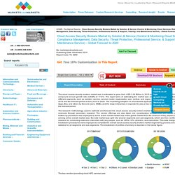 Cloud Access Security Brokers Market by Solution & Service