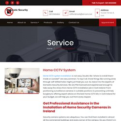 Home Security CCTV Camera System In Cork Ireland