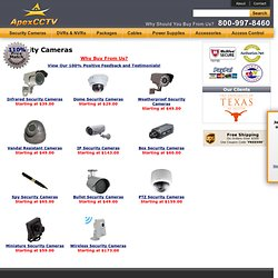 Security Cameras - CCTV Security Cameras - CCTV Cameras