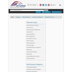 Global Focus Ltd, Security Companies, West Midlands, England -uklistingz