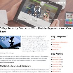 5 Key Security Concerns With Mobile Payments You Can Face