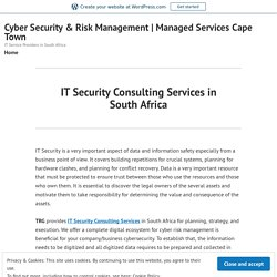 IT Security Consulting Services in South Africa – Cyber Security & Risk Management