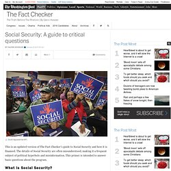 A primer on Social Security - The Fact Checker