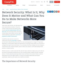 Network Security Basics - Definition, Threats and Solutions