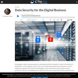 Data Security for the Digital Business