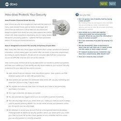 Security - doxo