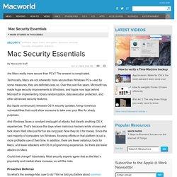 Mac Security Essentials