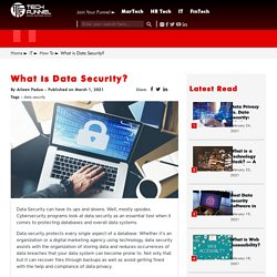 Data Security: Everything You Need to Know