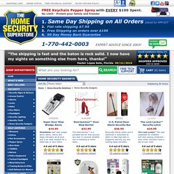 Home Security Gadgets: Security Devices – The Home Security Superstore