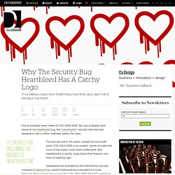 Why The Security Bug Heartbleed Has A Catchy Logo