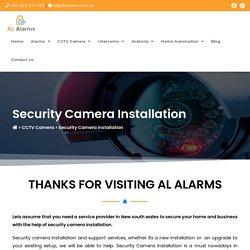 Security Cameras System - Al Alarms