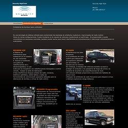 Security - Inhibidores de bombas (para vehiculos)
