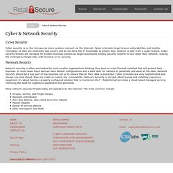 Cyber Security with Retailsecure.co.uk