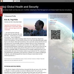 Noji Global Health and Security